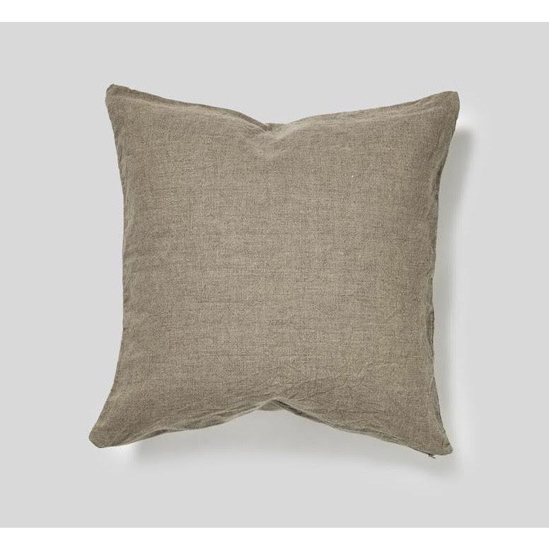 linen cushion - natural 50x50
