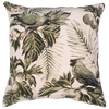 velvet printed cushion - areca