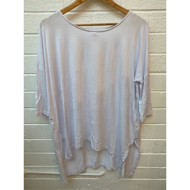 modal loose top - white - t1421cwh