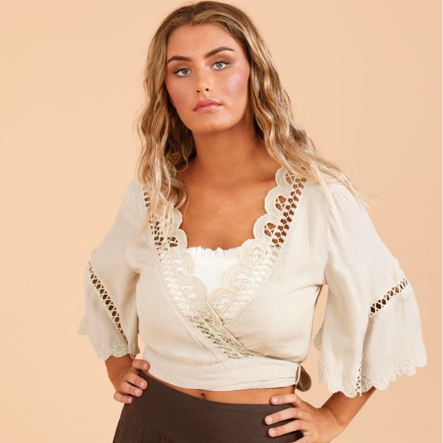 shiraz wrap top oyster