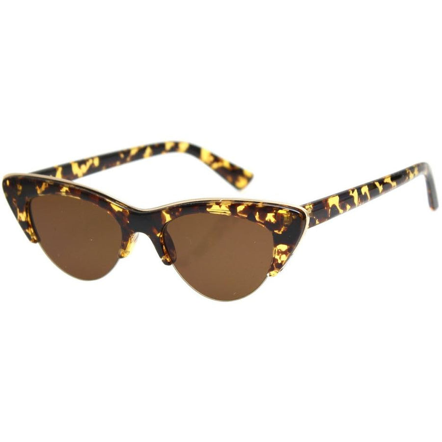 loren - honey turtle sunglasses