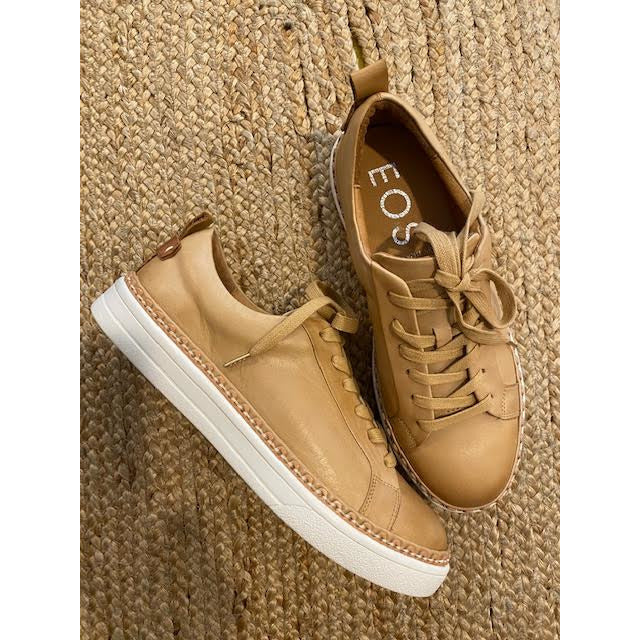 morocco tan leather lace ups