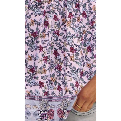 patchouli print indira top