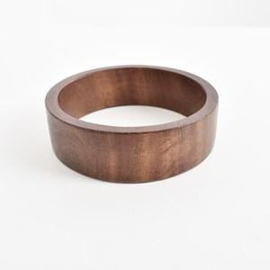 Smooth timber bangle ACA2202