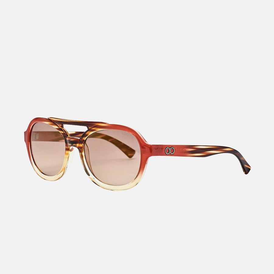 childe wild secret african cola/grad.brown+mirror grad bronze sunglasses