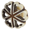 Hand carved acrylic cabinet knob BDK753 - Natural