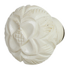 Hand carved acrylic cabinet knob BDK744 - Creme