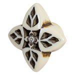 Hand carved acrylic cabinet knob BDK650 - Natural