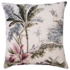 Palm velvet cushion MCC202