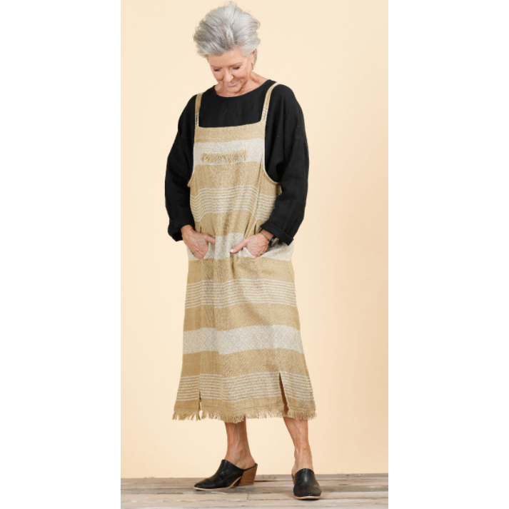Pioneer Pinafore- Dakota Stripe SH871-4