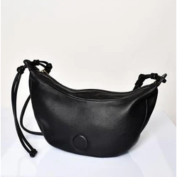 knotted strap cresent bag - AXD-1185-BLAC