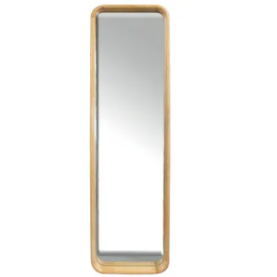 inga oak standing mirror - fu2428 natural