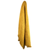 zohra cotton throw - sof0894 mustard