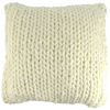 tabitha wool blend cushion - sof0840 ivory