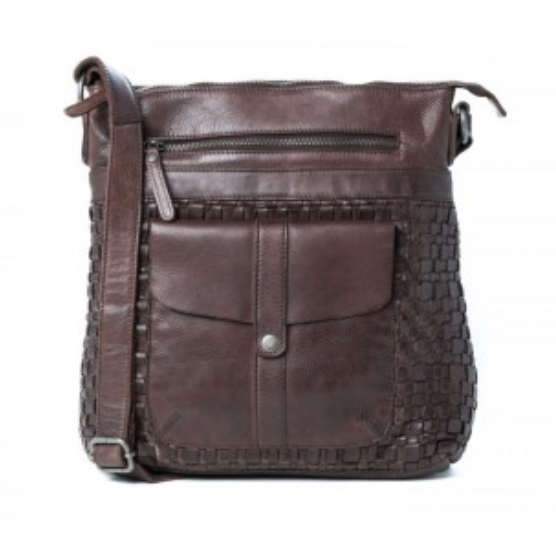 Willow large cross body- Brown RH3031BRN