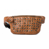 Miami studded belt bag- Cognac RH36764COG