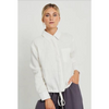 pocket shirt- white