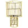Harbour rattan table lamp 40x60cm natural