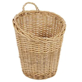 Lima wall hanging basket natural 40x 51cm