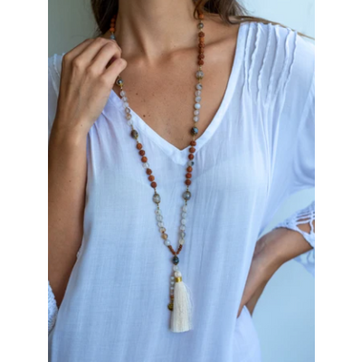necklace - tassel