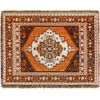 norwegian wood picnic throw - 170x200