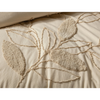 hedgerow quilt cover set super king natural 270x210cm