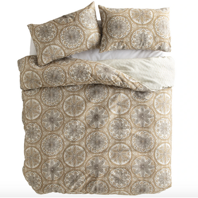 rafia quilt set king multi