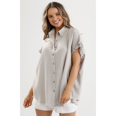 sunshine shirt linen viscose