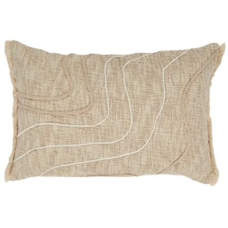 SOF0944 skye cotton cushion natural - 40x60
