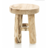 Mini Stool teak D409 - natural