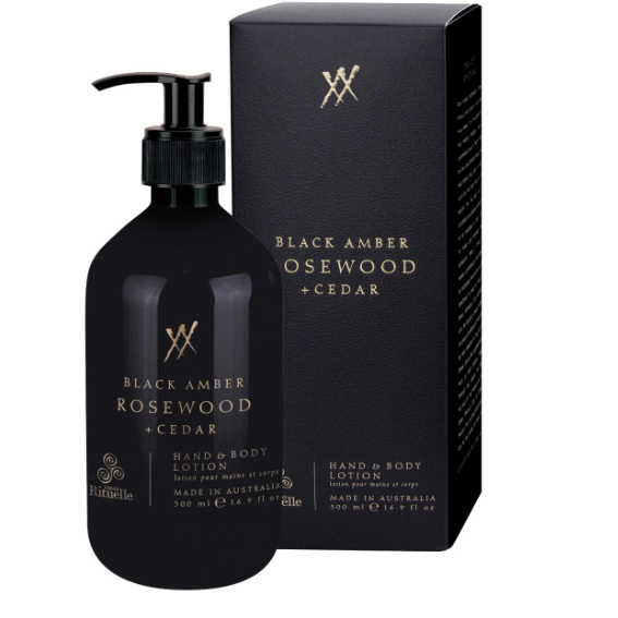 black amber hand and body lotion AHBLB - 500ml