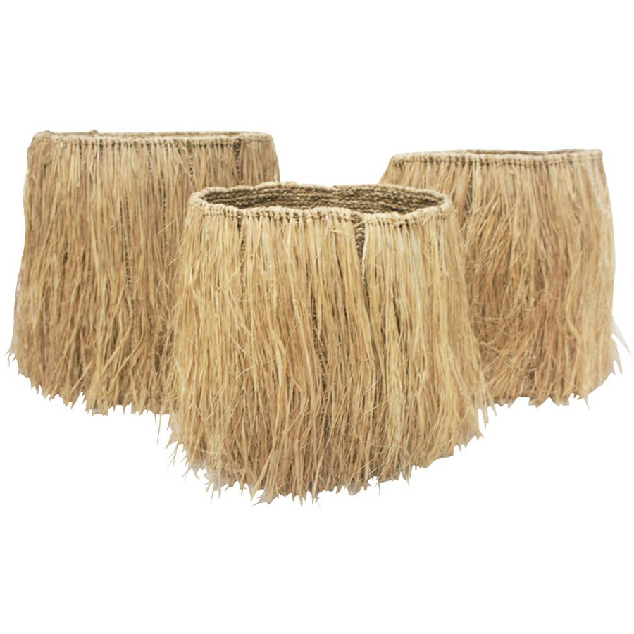 Rumbai basket 400708 - natural