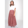 June Skirt S19S101LE - Rust Floral