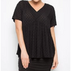 Wander Top 327H01F - Black Dot