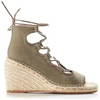 Vine Canvas Wedge VINC-K - Khaki
