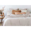 KB Linen Quilt Cover Set - BRLQCSPEBK - Pebble