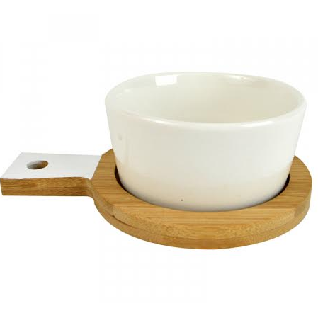 Tapas S/2 Serve Tray/Bowl KW1385 - White