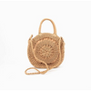 Cut Out Round Basket Bag AXD-0592-NATUPEAC