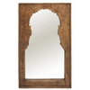 Morocco Hand Carved Wooden Mirror - 400772