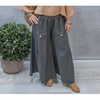 Greer Linen Pants - 6IM30235G - Granite