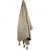 Serai Cotton Throw SOF0725 - Ivory