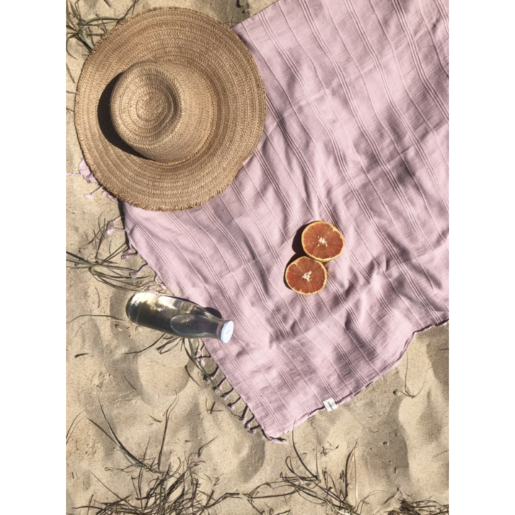 Turkish Towel - Dusty Pink