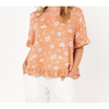 Libby Top - LOL8789-1 - Orange