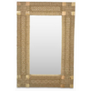 Timber and Handwoven Mirror - AV07