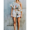 Positano Playsuit - Floral