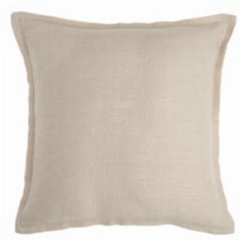 Naples cushion 50x50cm - almond