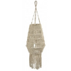 Byron Macrame Long Pendant with Tassel - IP03