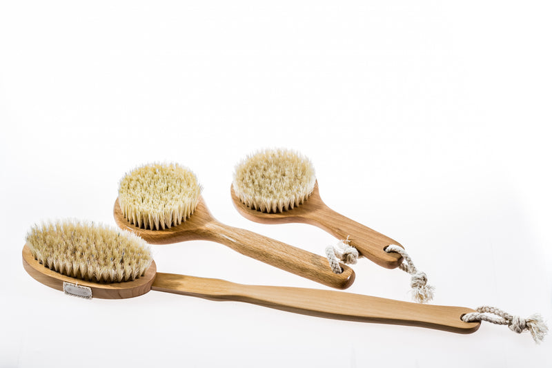 Dry body brushing sisal body brush- Meeka