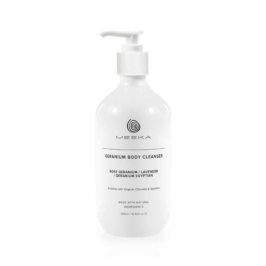 Organic Geranium Body Cleanser Meeka Body