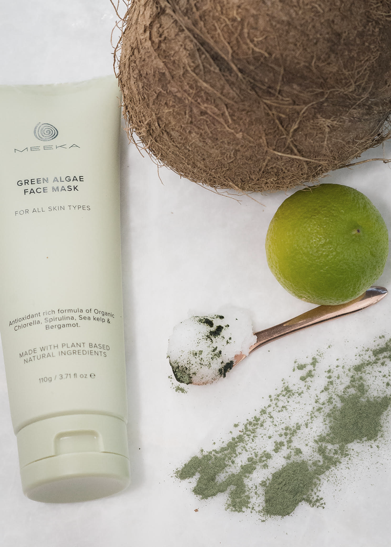 Green Algae Face mask and cleanser Meeka